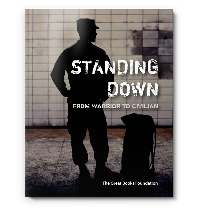 Standing Down Cover used with discussions programs for veterans