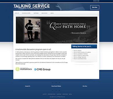 Talking Service Website