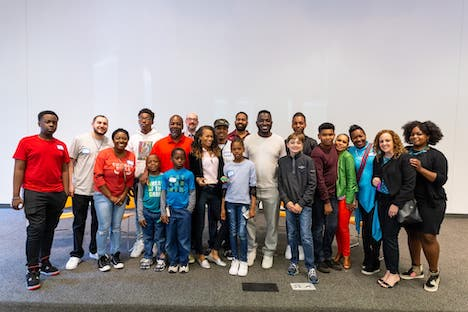 Founded by comedian and actor Hannibal Buress, Melvina Masterminds aims to create programming in science, technology, engineering, mathematics (STEM), and arts for students in underserved communities.