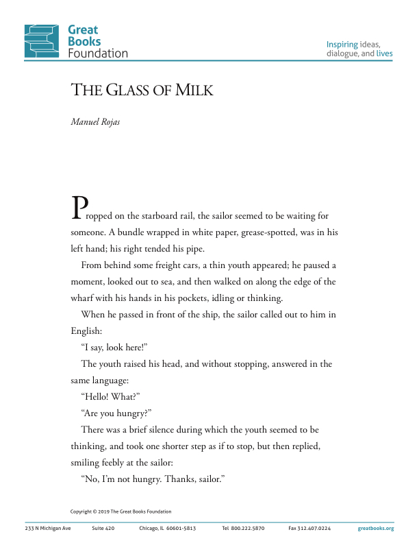 The Glass of Milk