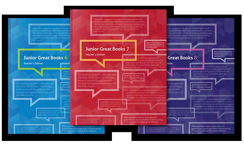 Junior Great Books Series 6-8